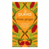 Pukka Three Ginger Herbal Tea Sachets