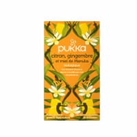 Pukka Lemon Ginger & Manuka Honey Tea 20 Count
