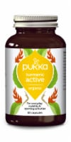 Pukka Turmeric Active Organic Herbal Supplement Capsules