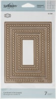 Spellbinders S5399 Candlewick Classics Collection - Etched Dies - Rectangles