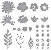 Spellbinders Etched Dies-Simply Perfect Layered Blooms - 1