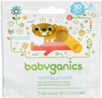Babyganics Teething Gel Single-Use Pods