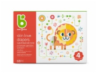 Babyganics Skin Love Size 4 Diapers 68 Count