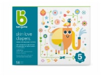 Babyganics Skin Love Size 5 Diapers 58 Count