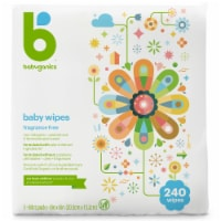 Babyganics Baby Wipes 240 Count