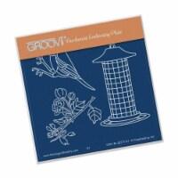 Groovi Small Blue Tit Feeder A6 Plate - 1