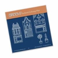 Groovi Wee Shops Plate A6 Sq - 1