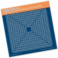 Groovi Plate - Scallops Nested Squares A5 Square - 1