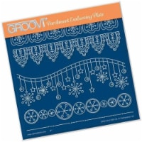 Groovi Plate - Tina's Wave! It's Christmas A5 Sq - 1