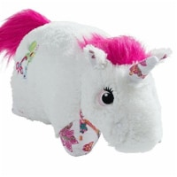 Pillow Pets Colorful Unicorn Large Character Pillow, White