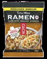 Koyo Reduced Sodium Tofu and Miso Ramen