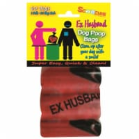 Schoochie Pet 399 Ex Husband Dog Waste Poop Bags - 3 Pack