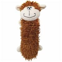 Schoochie Pet 554 Missy Monkey Water Bottle Dog Toys, 11 in.