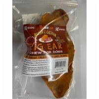 Scoochie Pet 646 Bacon & Cheddar Loaded Pegable Pig Ears Chew - 1