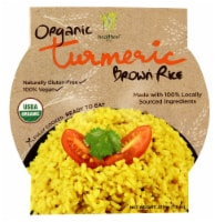 Healthee  Organic Brown Rice Bowl   Turmeric