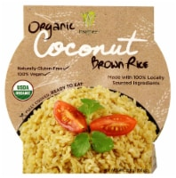 Healthee  Organic Brown Rice Bowl   Coconut