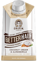 Califia Farms Dairy Free Better Half Unsweetened Coconut Cream & Almond Milk Creamer