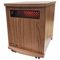 Sunheat 150100007 USA1500 5 Year Warranty Infrared Fully Heater, American Walnut