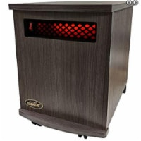 Sunheat 150100008 USA1500 5 Year Warranty Infrared Fully Heater, Charcoal Walnut - 1