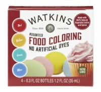Watkins Natural Food Color 4-Pack