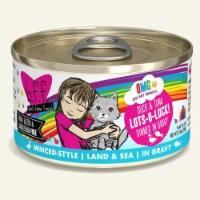 Weruva International WU01408 2.8 oz Duck & Tuna Lots-O-Luck Cat Food, Pack of 12 - 1