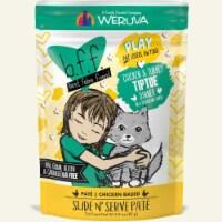 Weruva International WU01488 3 oz Best Feline Friend Play Tiptoe Pouch Cat Food, Pack of 12 - 1