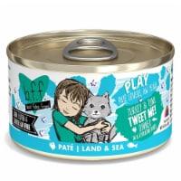 Weruva International WU01551 5.5 oz Best Feline Friend Play Tweet Me Cat Food, Pack of 8 - 1