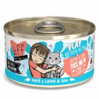 Weruva International WU01567 2.8 oz Best Feline Friend Play Tuck Me in Cat Food, Pack of 12 - 1