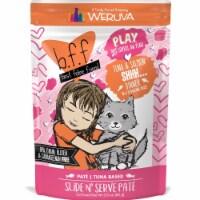 Weruva International WU01581 3 oz Best Feline Friend Play Shhh Pouch Cat Food, Pack of 12 - 1