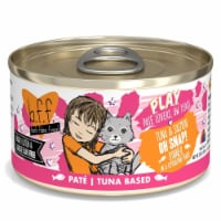 Weruva International WU01613 2.8 oz Best Feline Friend Play Oh Snap Cat Food Cans, Pack of 12 - 1