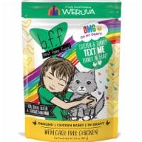 Weruva International WU01626 3 oz Best Feline Friend OMG Text Me Pouch Cat Food, Pack of 12 - 1