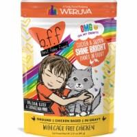 Weruva International WU01627 3 oz Best Feline Friend OMG Shine Bright Pouch Cat Food, Pack of - 1