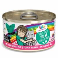 Weruva International WU01719 2.8 oz Best Feline Friend OMG Tell Me Cat Food, Pack of 12 - 1