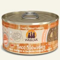 Weruva International WU01813 2.8 oz Stew Taco Stewsday Cat Food, Pack of 12 - 1