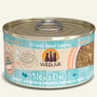 Weruva International WU01815 2.8 oz Stew Stews Clues Cat Food, Pack of 12 - 1