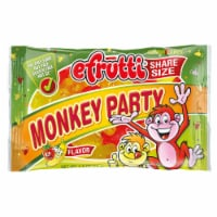 efrutti Monkey Party Strawberry Banana Flavor Gummi Candy
