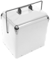 Creative Outdoor Retro 13L Cooler - White