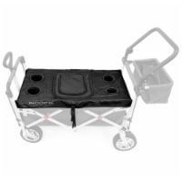 Creative Outdoor Folding Wagon Tabletop Cooler Cover - Black - 1 ct