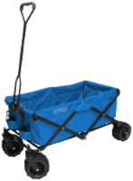 Creative Outdoor All-Terrain Folding Wagon - Blue