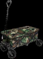Creative Outdoor All-Terrain Folding Wagon w/Table - Camo