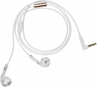Happy Plugs Wired Earbuds Plus - White Marble
