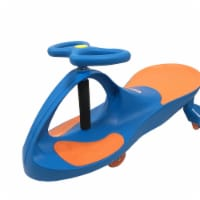 Joybay GT0096R-s Premium LED-Wheel Swing Car Ride on Toy - School Blue
