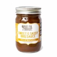 Sweet & Sassy BBQ Sauce; All Natural, GMO Free, Allergen Free