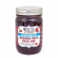 Lunchbox Michigan Mixed Fruit Jam; All Natural, GMO Free, Gluten Free - 1