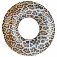 PoolCandy Leopard Inflatable Pool Tube - 1 ct