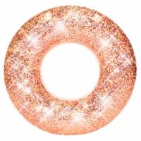 PoolCandy Rose Gold Glitter Jumbo Beach & Pool Tube - 1 ct