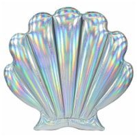 PoolCandy Holographic Oyster Pool Raft - 53 x 51 in