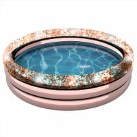 PoolCandy Rose Gold Glitter Sunning Pool - 1 ct