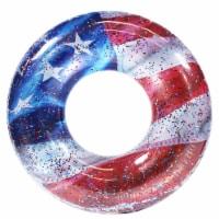PoolCandy Stars & Stripes Glitter Jumbo Beach & Pool Tube - 1 ct