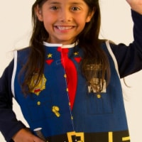 Dexter Educational Play DEX204 Toddler Police Dress Up Costume